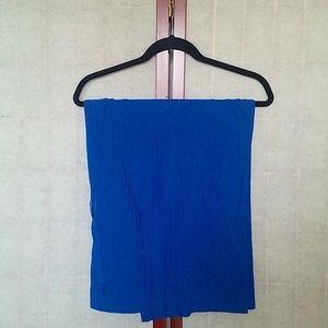 American Apparel Blue infinity circle scarf. OS.
